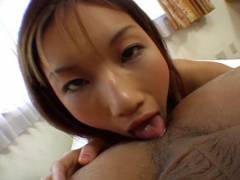 Maria Fujisawa licks derrier and licks phallus
