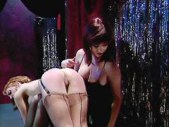 Sexy Strippers Spanking Each Other's Buttocks