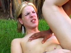 Shemale Layssa Taking a Big Dick