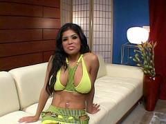 Busty Latina Porn Star Nailed