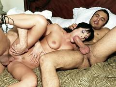 Arianna Gets Double Penetrated