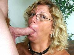 Jizz Facial Mature