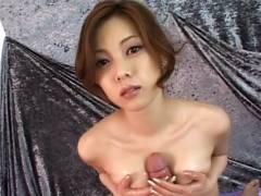Super Hotey Miho Maejima Works Hard To Make Her Man Come